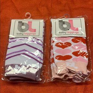 🔥7/20🔥 BL Baby Leggings (2)pair New